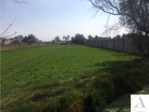 vendo terreno 6300 m2 uso mixto cuautitlan mexico