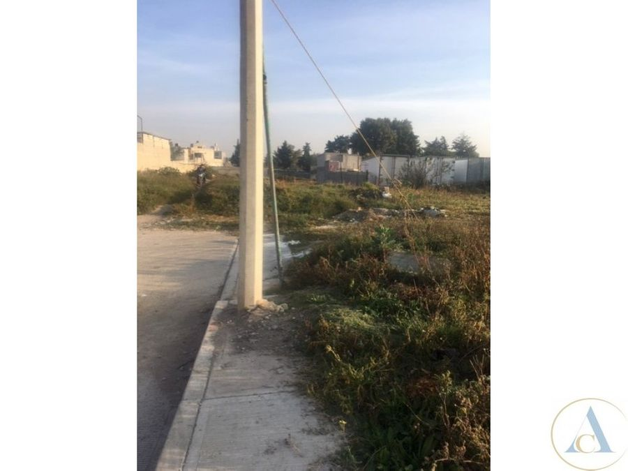 terreno 1000 m2 acceso cto ext mexiquense tultepec