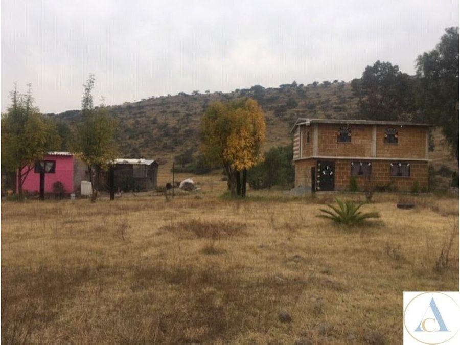 terreno 700m2 habitacional acepto auto tepotzotlan