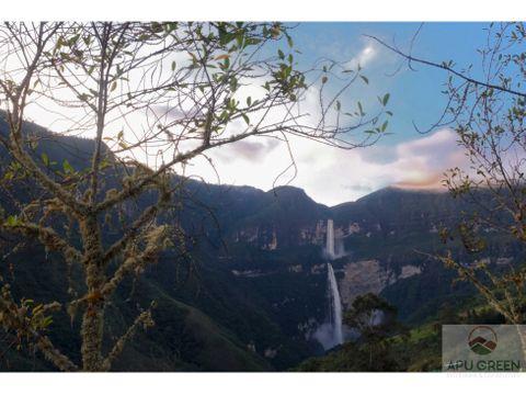 terrenos cocachimba vista excepcional cataratas de gocta