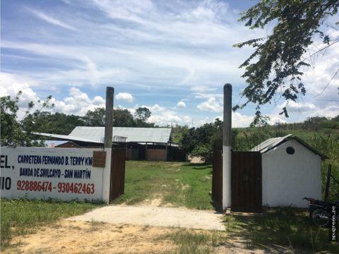 terreno comercial con almacenes en venta
