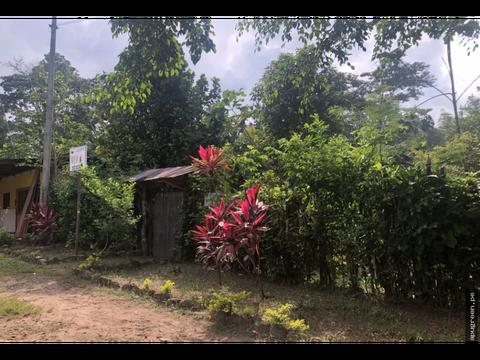 venta terreno centrico con salida al rio shilcayo