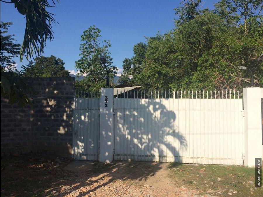 venta de excelente terreno y casa