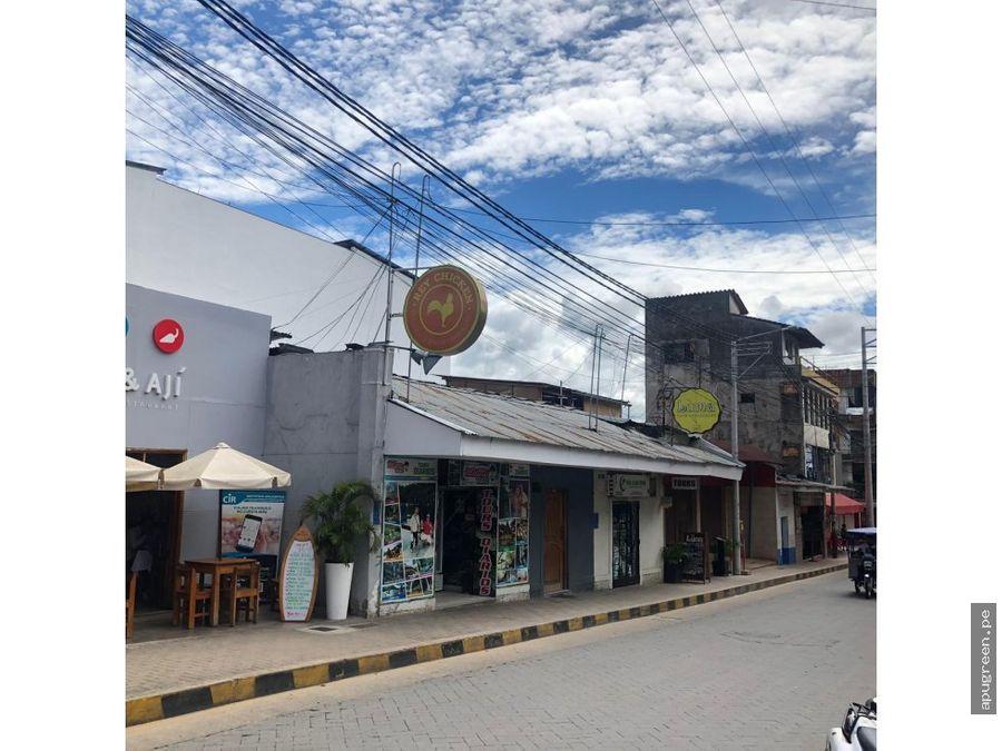 terreno comercial en el centro de la ciudad