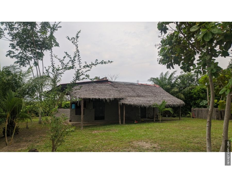 casa de campo en las afueras de tarapoto