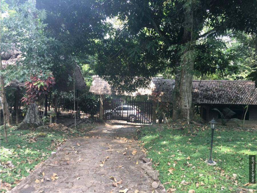 casa campo y terreno cordillera escalera