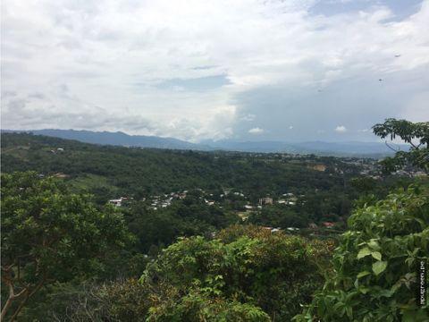 venta de terreno con magnifica vista