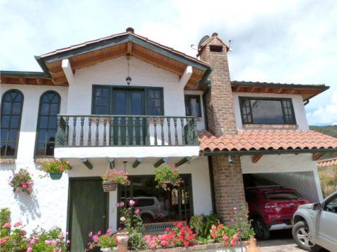 en venta hermosa casa exclusivo sector cota