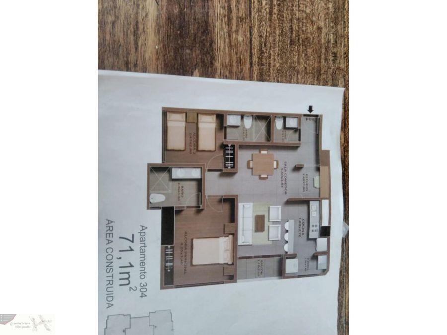 apartamento nuevo en el norte acabado domotico