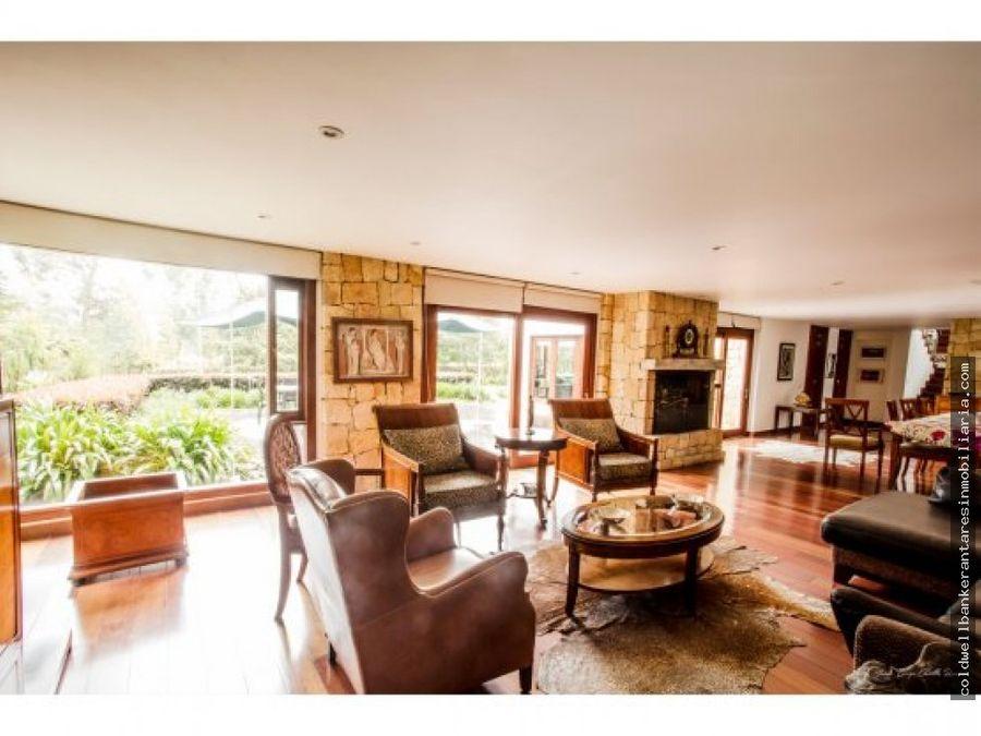 espectacular casa campestre en sopo cundinamarca