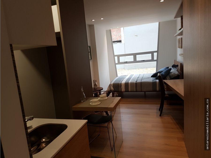 apartamento loft en venta en chapinero
