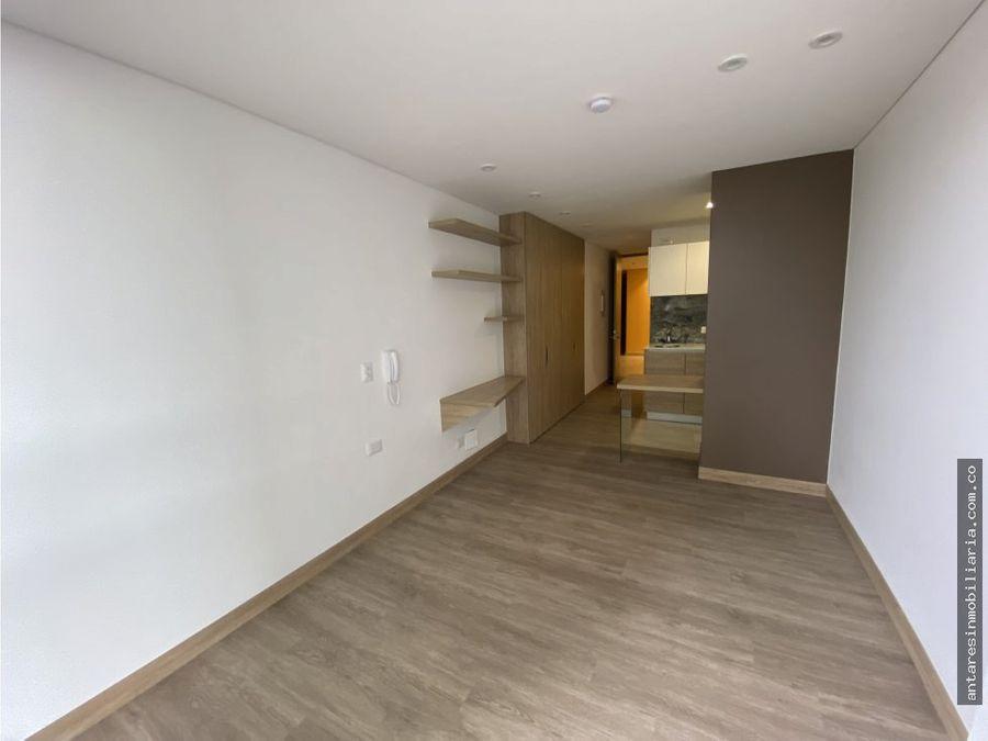 apartamento loft en arriendo en chapinero