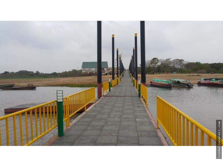 lote ideal para proyecto turistico en chimichagua