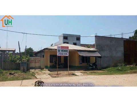 00042 venta casa yarinacocha material seminoble 285m2