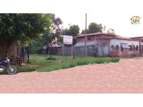 00035 venta terreno urbano manantay av laureles 300m2