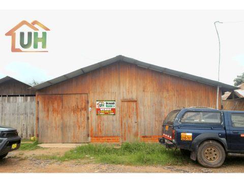 00381 venta casa yarinacocha vivienda unifamiliar 234 m2