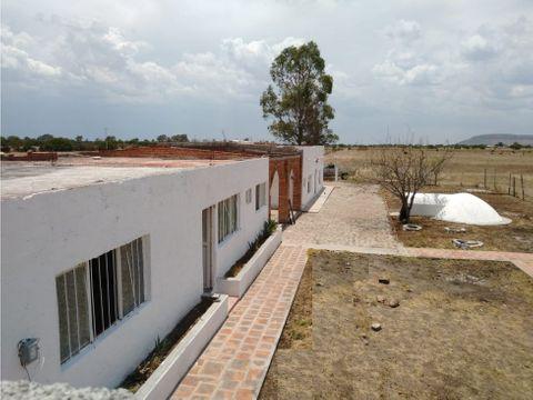 casa de campo en rancho de 7 hectareas