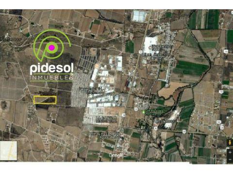 venta terreno 5ha uso de suelo habitacional y pozo