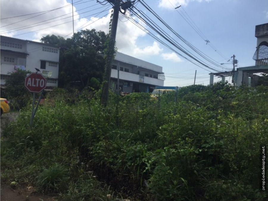 se vende terreno en pueblo nuevo 210 metros