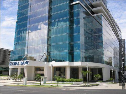 oficinas en torre global bank calle 50