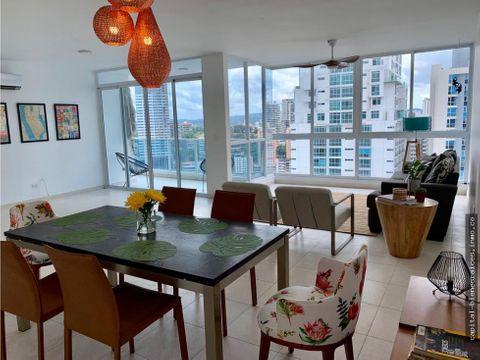 se alquila apartamento amoblado bella vista park
