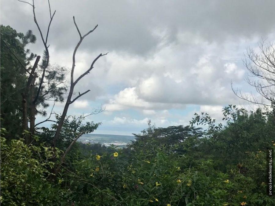 bonita cabana en las vistas de cerro azul
