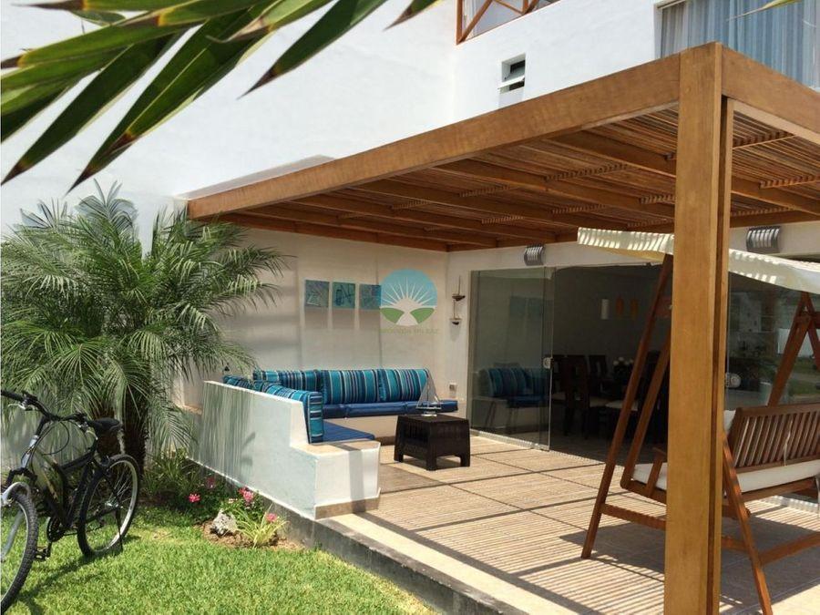 se vende casa de playa amoblada asia