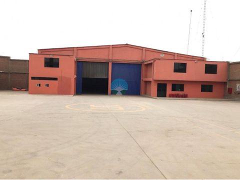 se alquila local industrial en huachipa