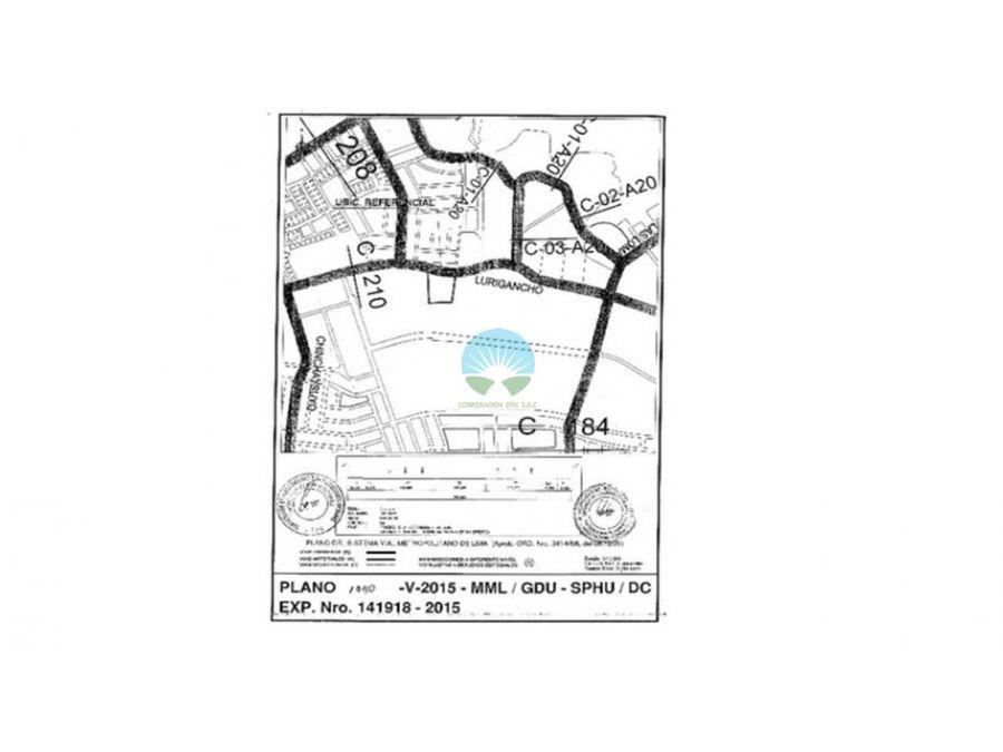 venta de terreno san juan de lurigancho