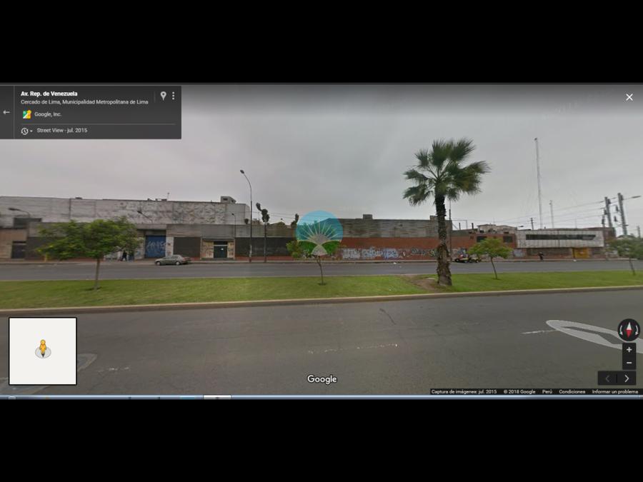 venta terreno de 28000 m2 en av venezuela lima