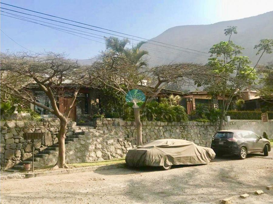 se vende hermosa casa en chaclacayo