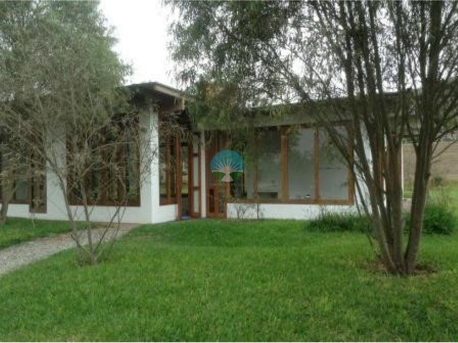 linda casa de campo en pachacamac