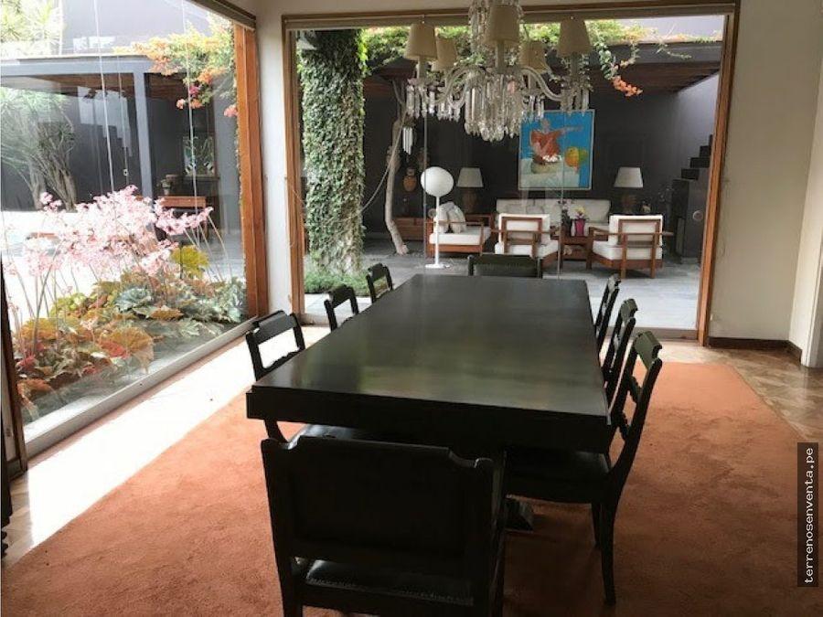 venta de casa en miraflores remodelada