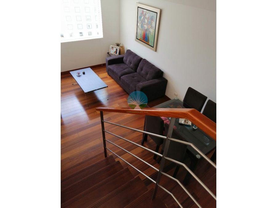 alquiler de lindo duplex penthouse en miraflores