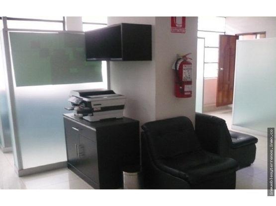 fabulosa oficina amoblada y modernizada en lima centro