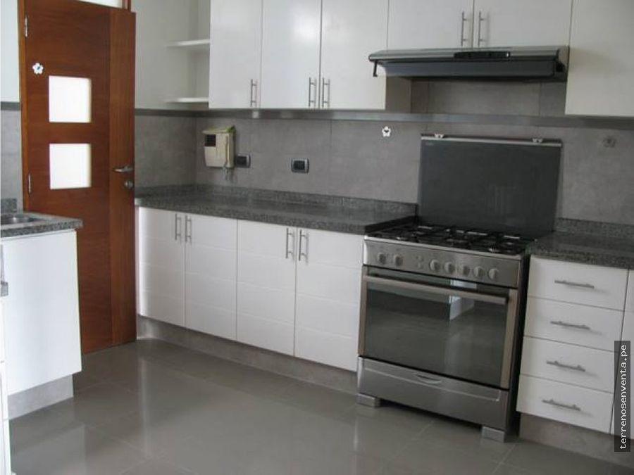moderno departamento amoblado equipado san isidro