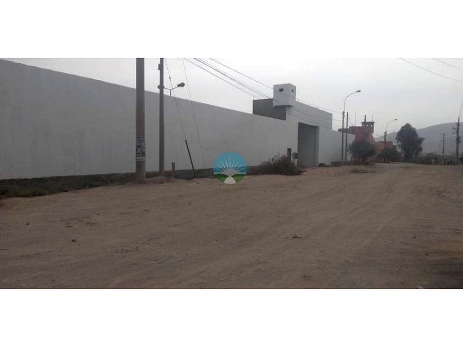 venta de local industrial en huachipalurigancho