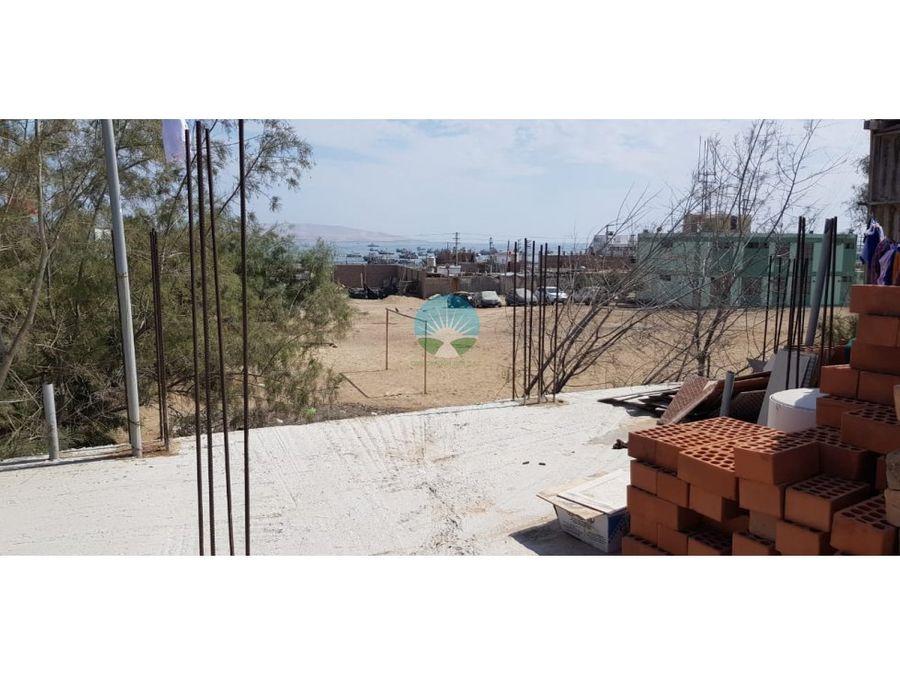 se vende casa en zona turistica de paracas pisco