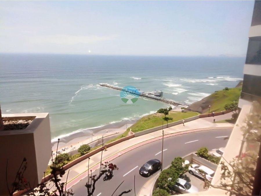 espectacular departamento frente al mar miraflores