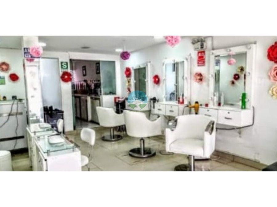 se vende local salon de belleza en san luis