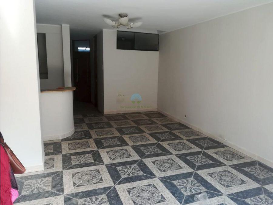 venta de departamento primer piso urb las terrazas