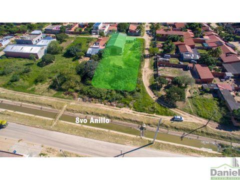 terreno 2245 m2 sobre 8vo anillo zona sur