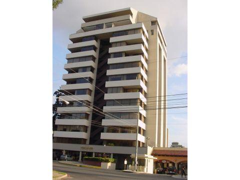 apartamento zona 14 edificio verdever amueblado