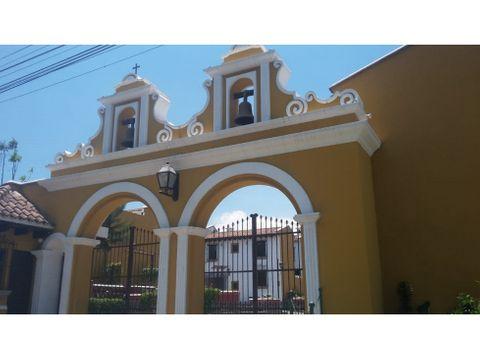 casa condominio las clarisas antigua guatemala