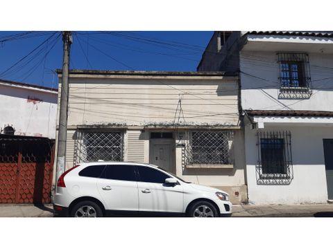 casa zona 1 5ta calle y 1ra avenida