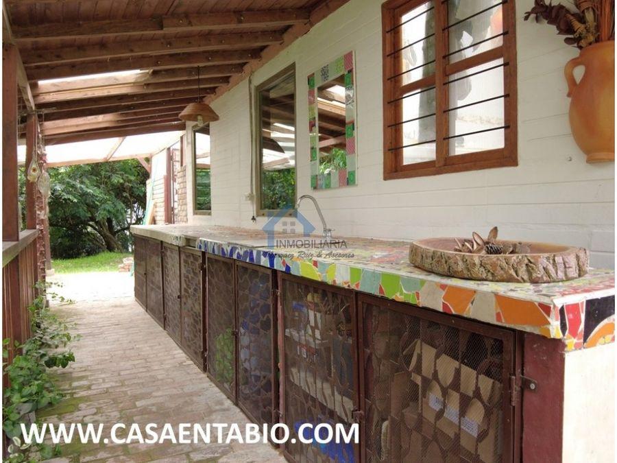 vendo hermosa casa en tabio vereda juaica