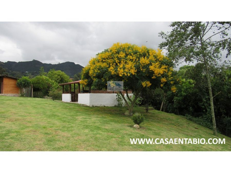 vendo casa en tabio rio frio occidental