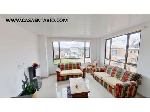 ganga vendo apartamento de 82 mts 2do piso en tabio