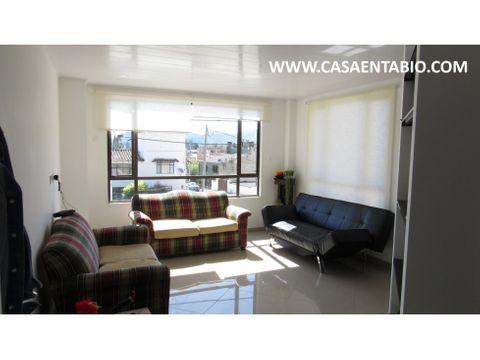 vendo apartamento de 84 mts 2do piso en tabio
