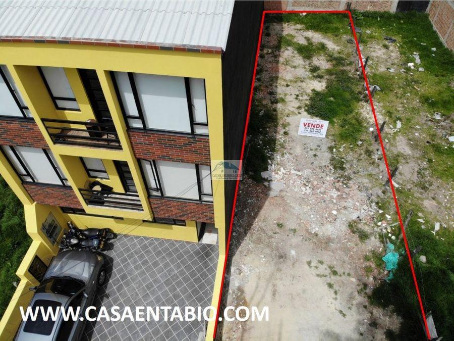 vendo lote urbano para construccion de 3 pisos
